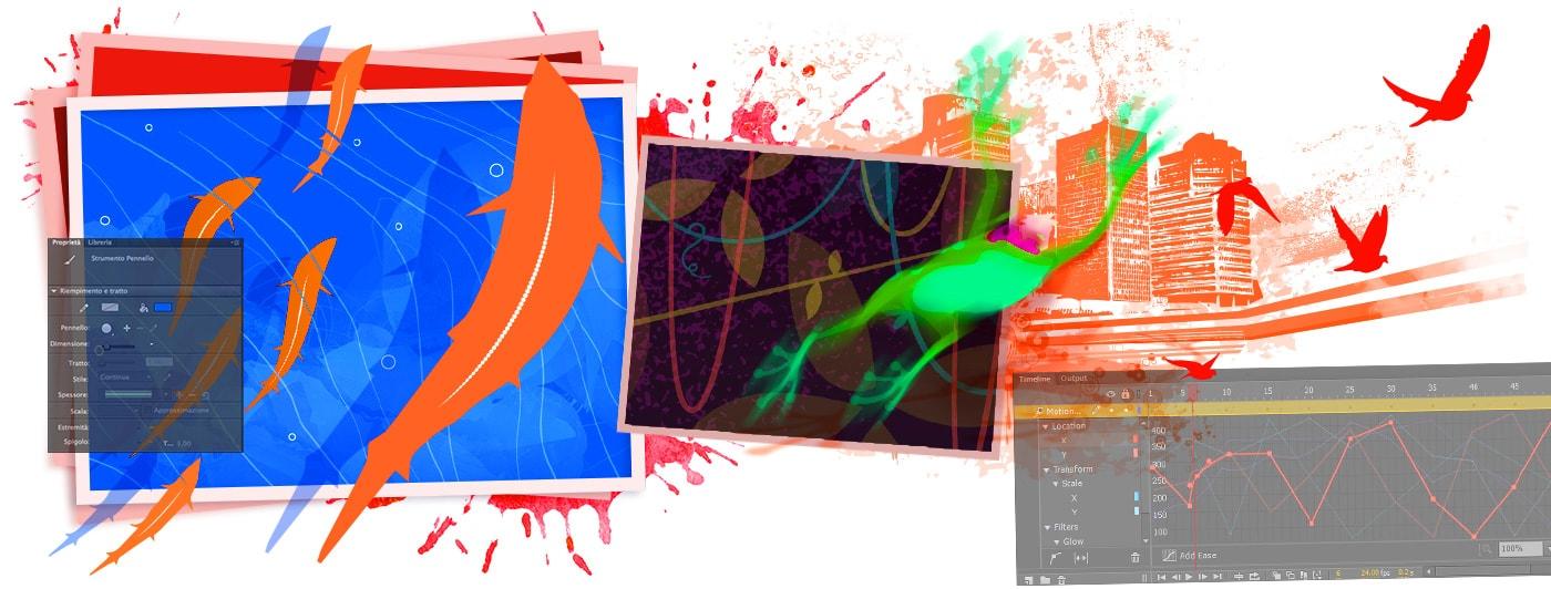 Corsi animate milano for Corsi grafica pubblicitaria milano