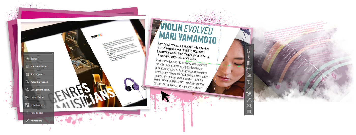 Corsi InDesign banner