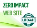 Zero Impact Web logo, lifegate