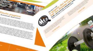 Layout design per sito web