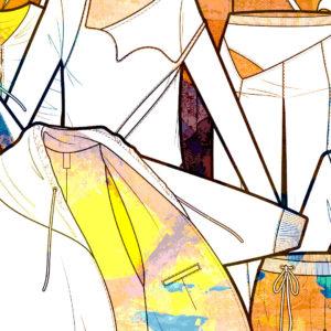 Banner corso Illustrator per la moda